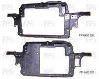 Передняя панель для Skoda Fabia '99-07, для авто с кондиционером, под большой радиатор (FPS)