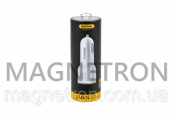 Зарядное устройство автомобильное Remax CC201 (USB 5V 1/2,1A) для телефонов