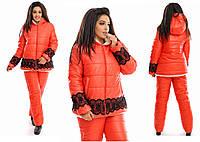 Женский лыжный зимний костюм 03354