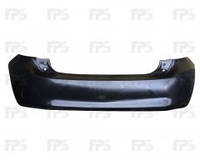 Задний бампер Toyota Auris '06-12 (FPS)