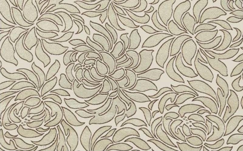 Мебельная жаккардовая ткань Клео крем