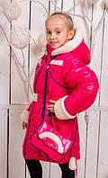 """Пальто """"Снегурка"""" караловое"""