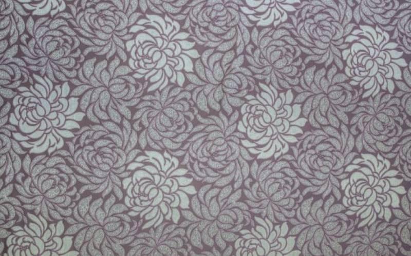 Мебельная жаккардовая ткань Клео фиолет