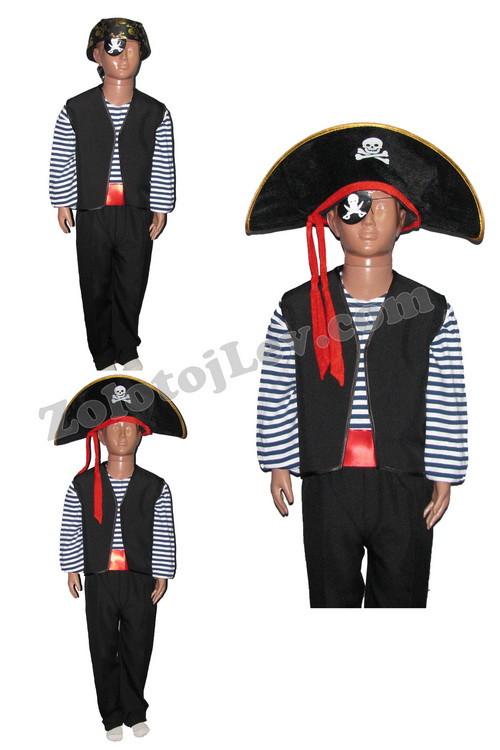 Детский костюм Пират 9 - 10 лет