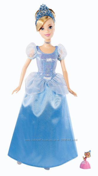 Кукла Золушка  с мышкой Disney Princess  Mattel