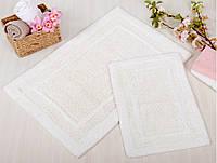 Набор ковриков для ванной Irya - Superior krem кремовый 60*90+40*60
