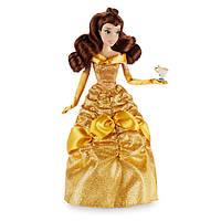 Disney Классическая кукла Принцесса Белль с чашкой Чип - Красавица и чудовище