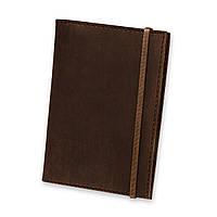 Кожаная обложка для паспорта 1.0 Орех