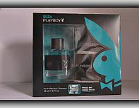 Набір подарунковий  чоловічий Playboy Ibiza (туалетна вода 50мл+спортивні труси)