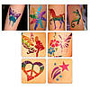 Блеск татуировки Shimmer Glitter Tattoos , фото 4