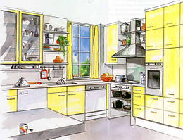 Изготовление мебели на заказ кухни
