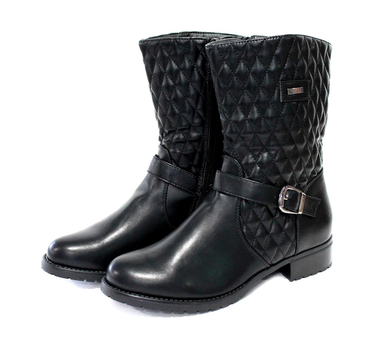Жіночі черевики MTT Fashion 36 Black