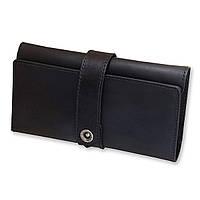 Универсальное женское портмоне-кошелек из кожи 3.0 Графит