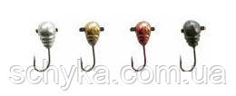 Вольфрамовая мормышка Капля с насечкой, отв.и кембр.807040