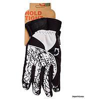 Перчатки зимние Green Cycle NC-2409-2014 Winter, L, бело-черные