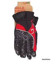 Перчатки зимние Green Cycle NC-2409-2014 Winter, S, черно-красные
