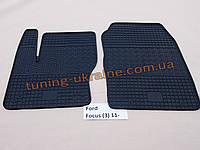 Коврики в салон резиновые Politera 2шт. для  Ford Focus 2011-2014