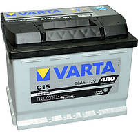 Аккумулятор Varta Black Dynamic C15 56Ah 12V (556 401 048)