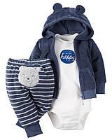 Махровый комплект для мальчика  3, 12  месяцев