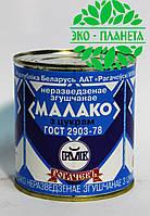 """Молоко цельное сгущенное с сахаром; """"РОГАЧЕВЪ""""; ж\б, 380г."""