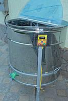 Медогонка радиальная 20/40 с электроприводом с крышкой и подставкой, кран пластмассовый