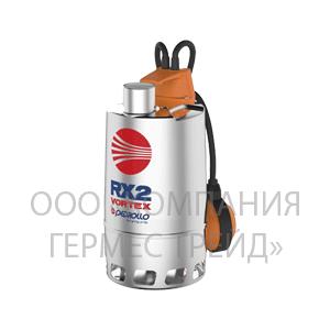 Погружной дренажный электронасос для загрязненной воды Pedrollo RX 5/40