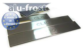 Накладки на пороги Renault Clio III 5D 2005+ / Clio IV 5D 2012+