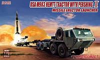 1:72 Сборная модель тягача M983 HEMTT с ракетой Pershing II, Modelcollect UA72077