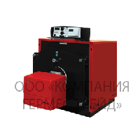 Котел стальной газовый для работы с вентиляторной горелкой 970 NO (Бизон)