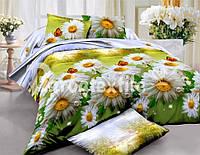 Двуспальный набор постельного белья Ранфорс №216