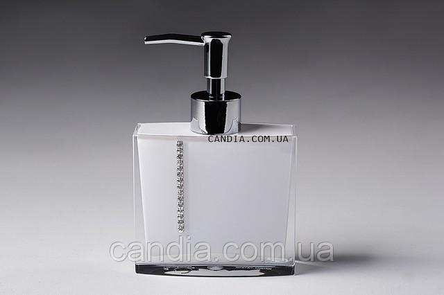 Дозатор для жидкого мыла Roma цвет белый