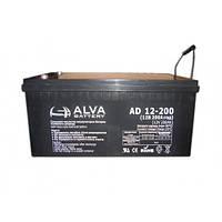Аккумулятор 12В 200Ач AD12-200 ALVA