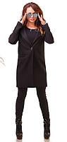 Пальто женское  кашемир карманы пуговица