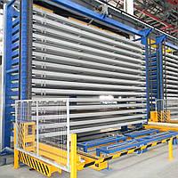 Автоматизированные склады для хранения листового металлопроката