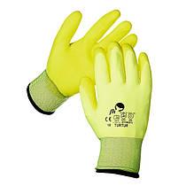 Перчатки покрытые поливинилхлоридом