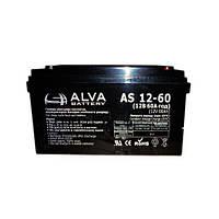 Аккумулятор 12В 60Ач AD12-60 ALVA