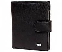 Оригинальный небольшой мужской портмоне из натуральной кожи Sergio Torretti (ST Leather)