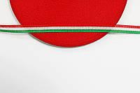Т/О флаг 10мм (50м) красный+белый+зеленый , фото 1