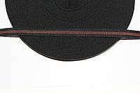 Т/О флаг 10мм (50м) черный+коричневый , фото 1