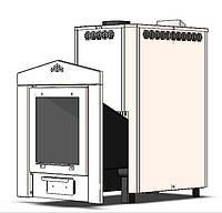 Печь-Каменка  ЭКО Б 20 кВт 220 мм нерж корпус