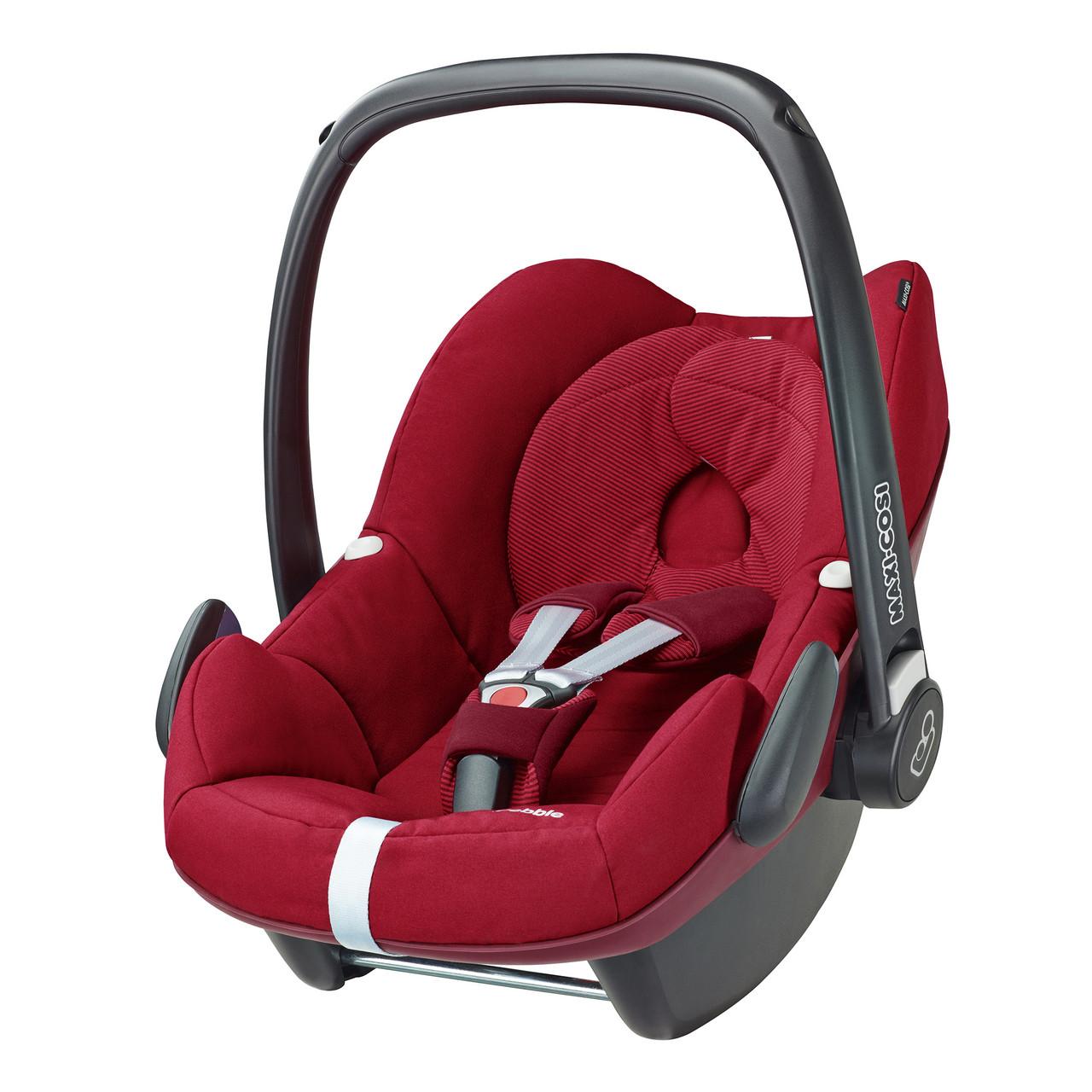 Автокресло Maxi Cosi Pebble 0-13 кг (63079660) Robin Red (тёмно-красный)
