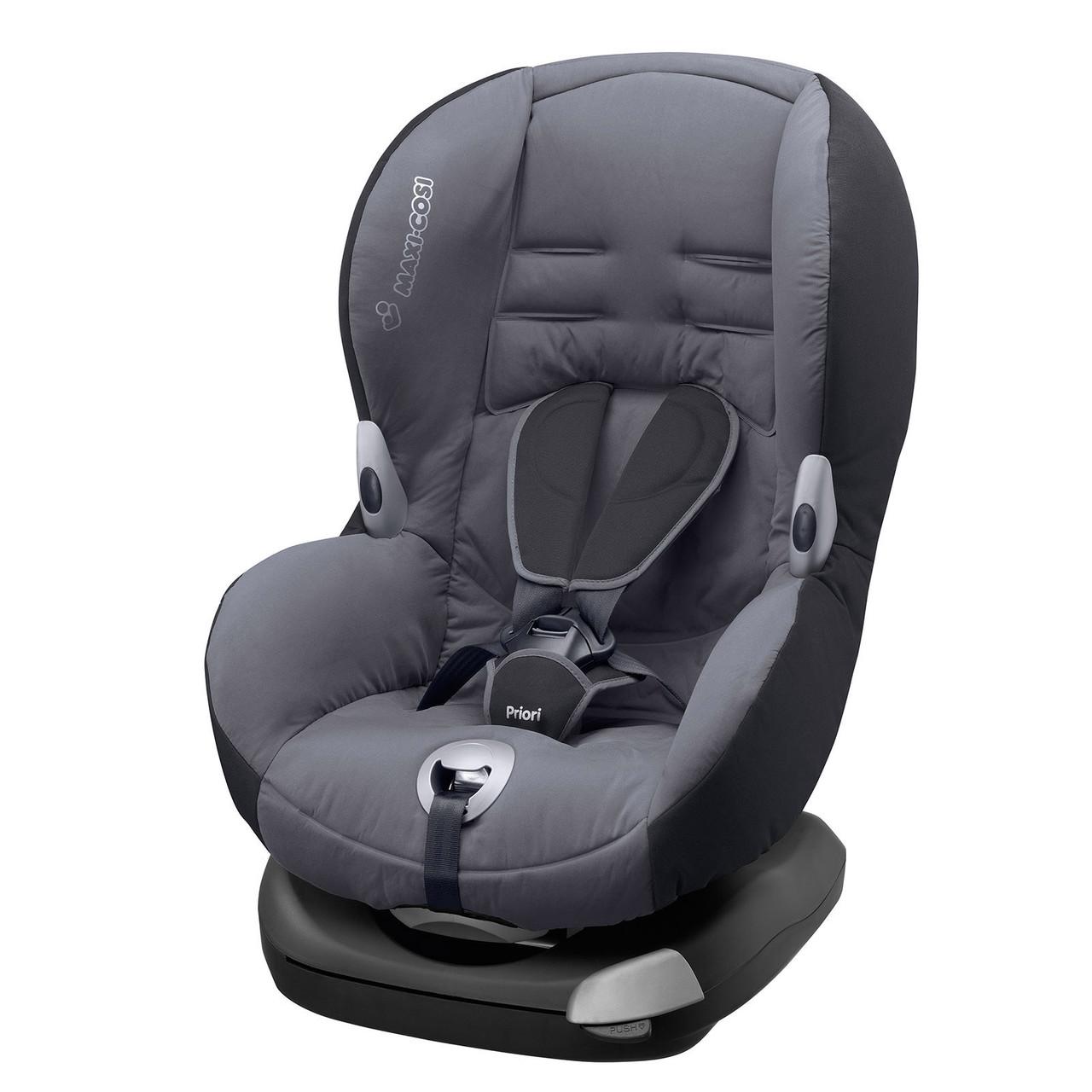 Автокресло Maxi Cosi Priori XP 9-18 кг (64106180) Solid Grey (тёмно-серый)