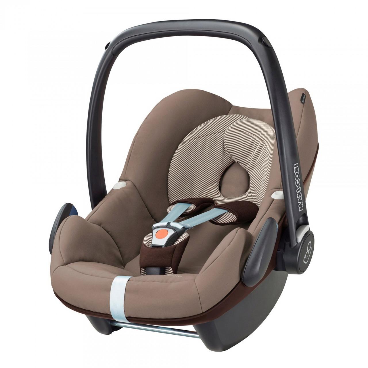 Автокресло Maxi Cosi Pebble 0-13 кг (63079650) Earth Brown (коричневый)