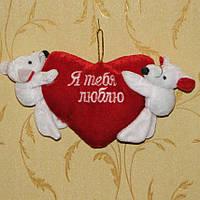 Игрушка мякушка Мышата с сердечком