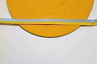 Т/О флаг 10мм (50м) желтый+голубой , фото 1