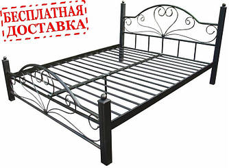 Кровать из металла Джоконда.
