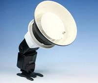 Портретная тарелка + крепление для накамерных вспышек Nikon Canon Yongnuo