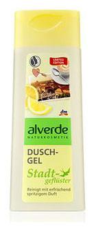 Гель для душа с ароматом бергамотом и апельсинового масла Alverde 250мл