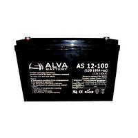 Аккумулятор гелевый 12В 100Ач AS12-100 Solar GEL ALVA