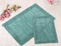 Набор ковриков для ванной Irya - Vesta blue голубой 60*90+40*60